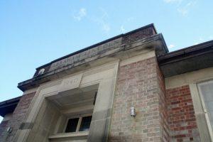 Outside alfreton masonic hall